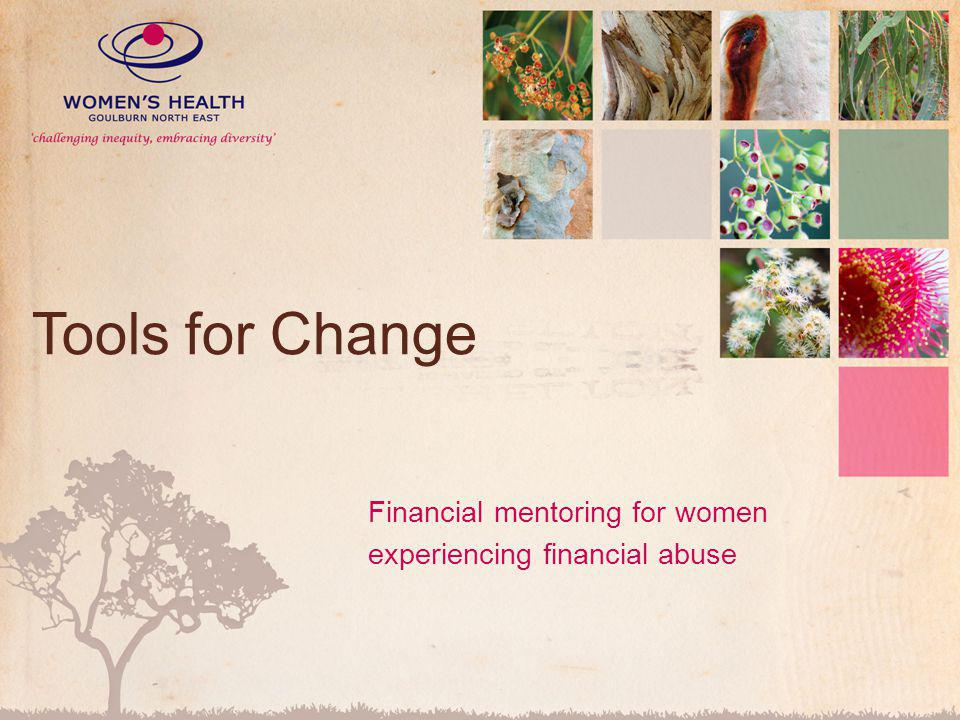Financial mentoring for women experiencing financial abuse