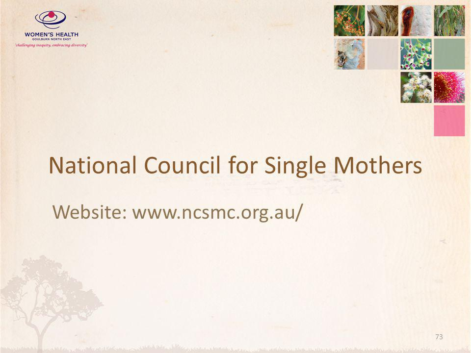 National Council for Single Mothers