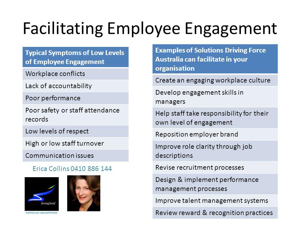 Facilitating Employee Engagement