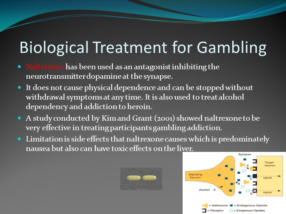 Biological Treatment for Gambling