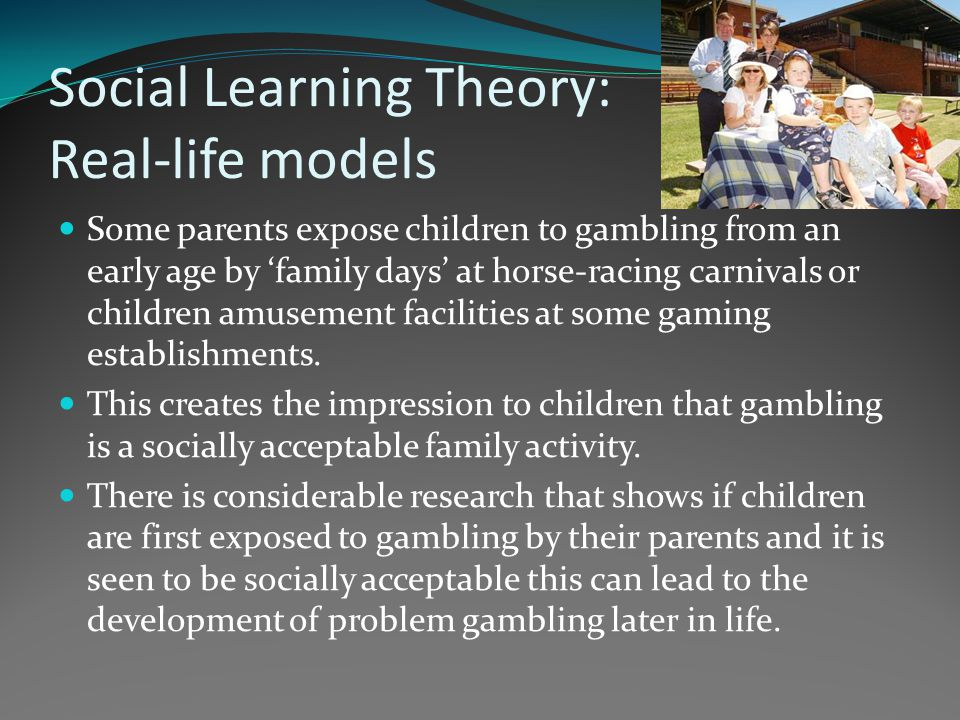 Social Learning Theory: Real-life models