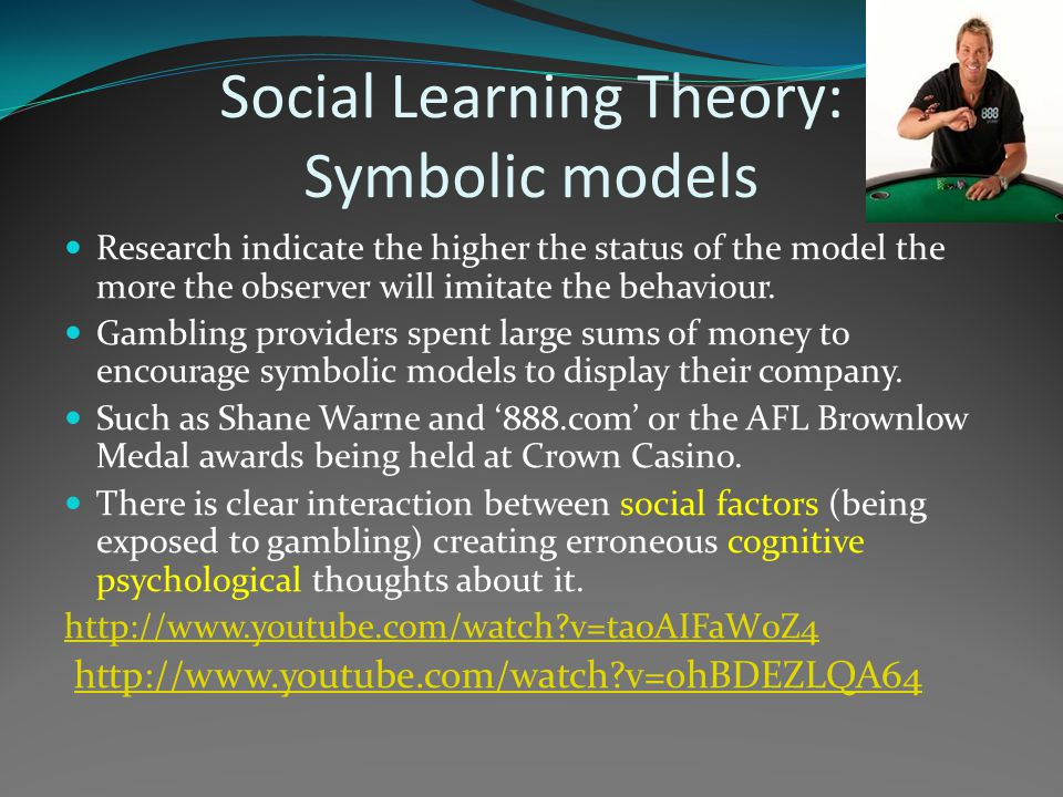 Social Learning Theory: Symbolic models
