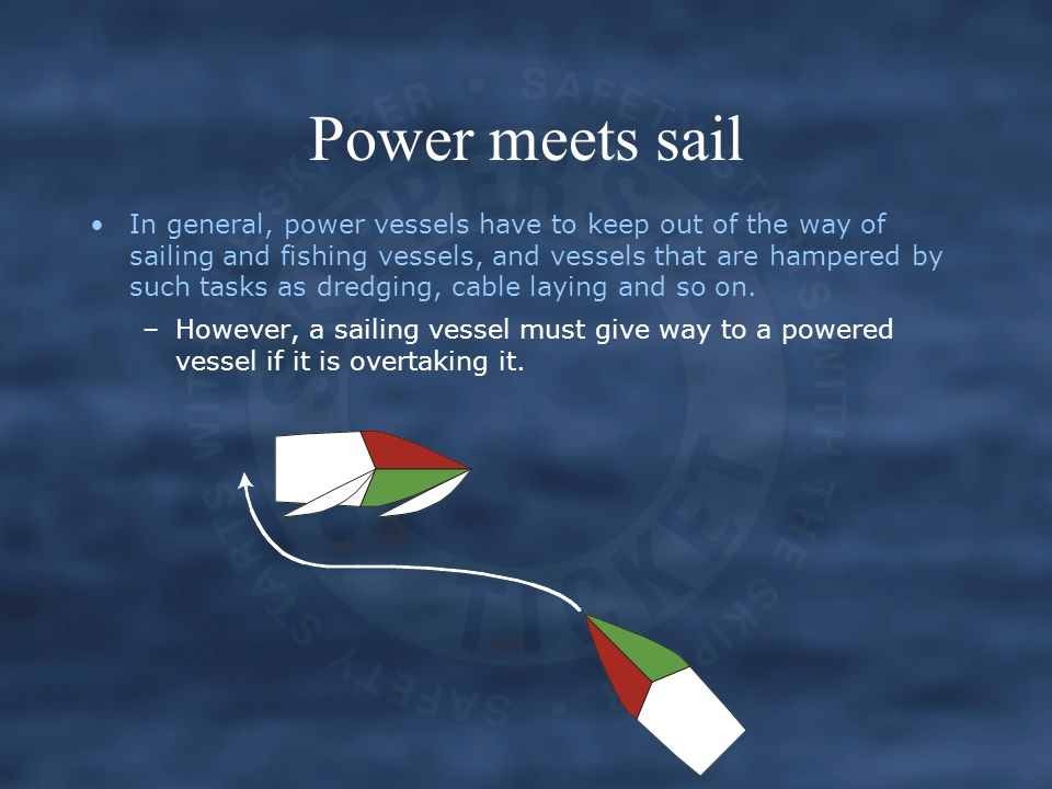 Power meets sail