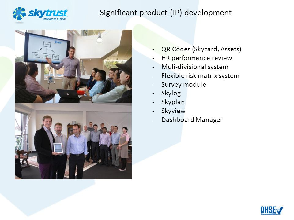 Significant product (IP) development