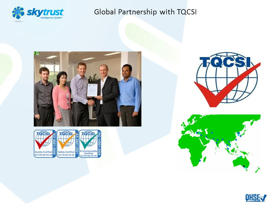Global Partnership with TQCSI