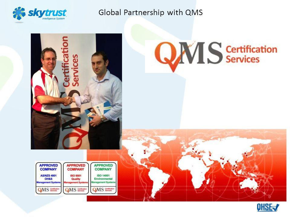 Global Partnership with QMS
