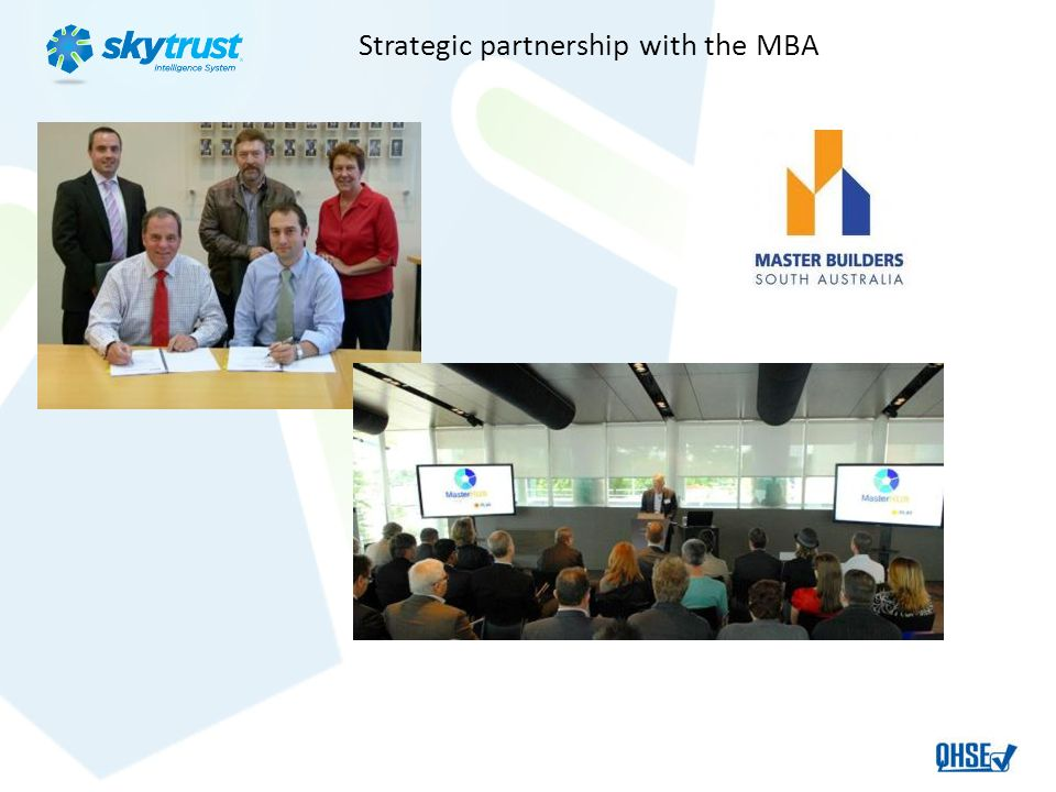 Strategic partnership with the MBA