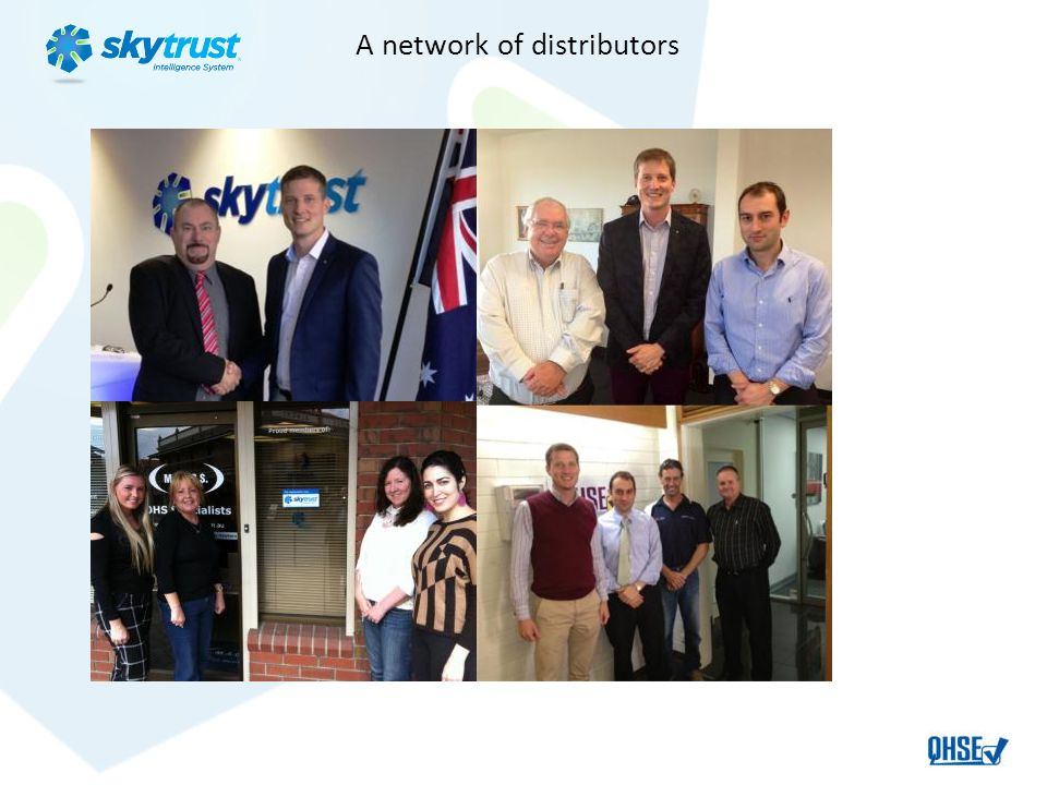 A network of distributors