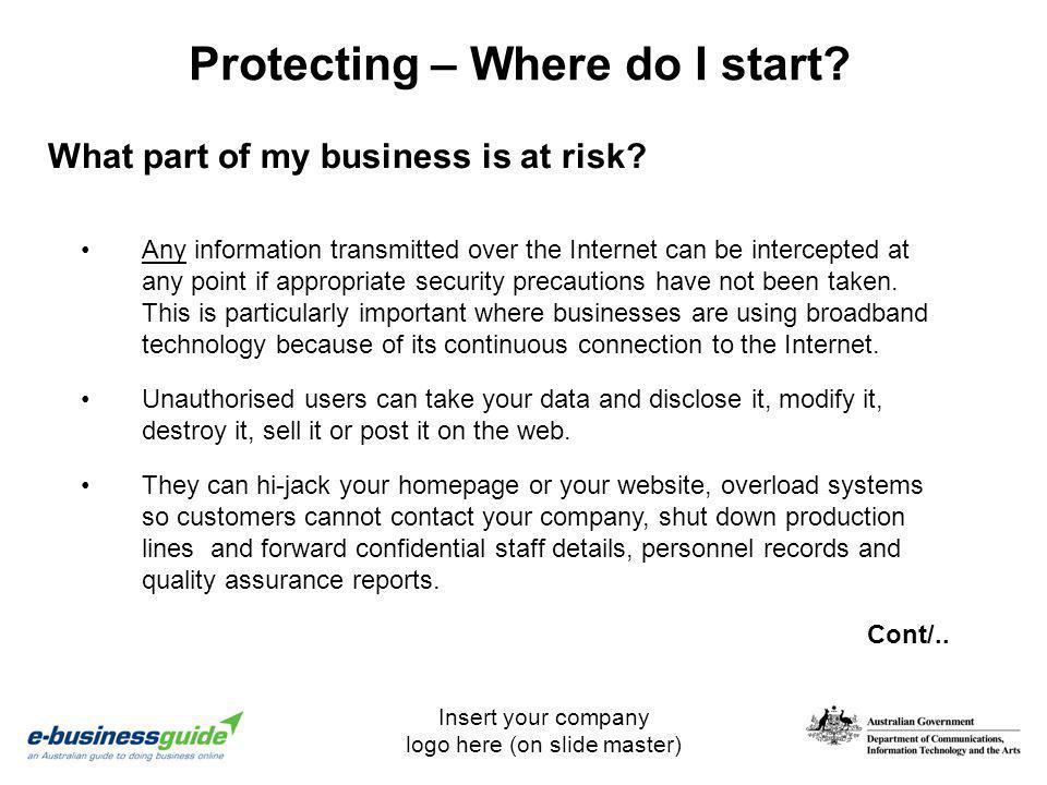 Protecting – Where do I start