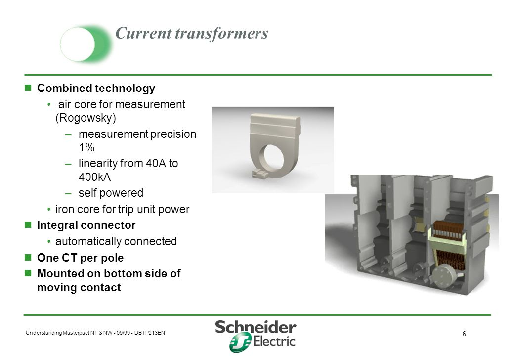 Current transformers Combined technology