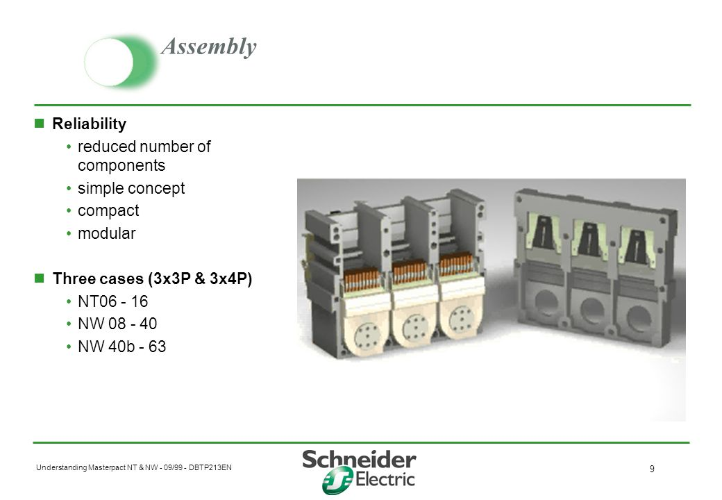 Assembly Reliability reduced number of components simple concept