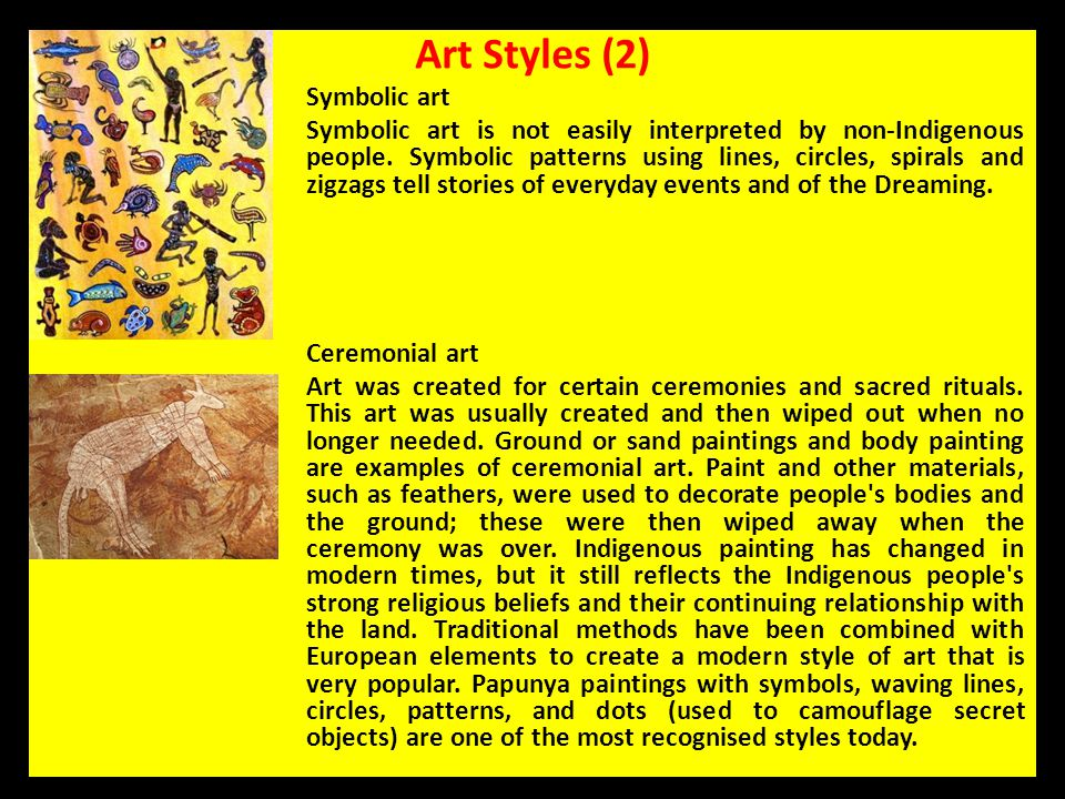 Art Styles (2) Symbolic art