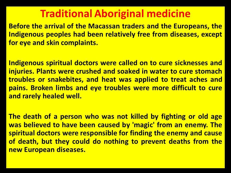 Traditional Aboriginal medicine