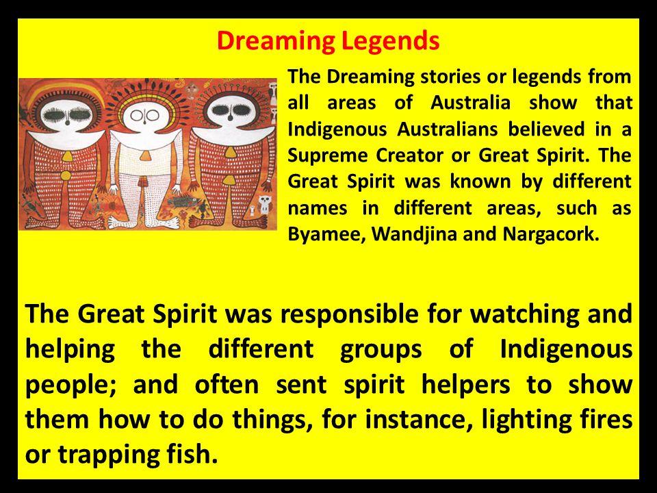 Dreaming Legends
