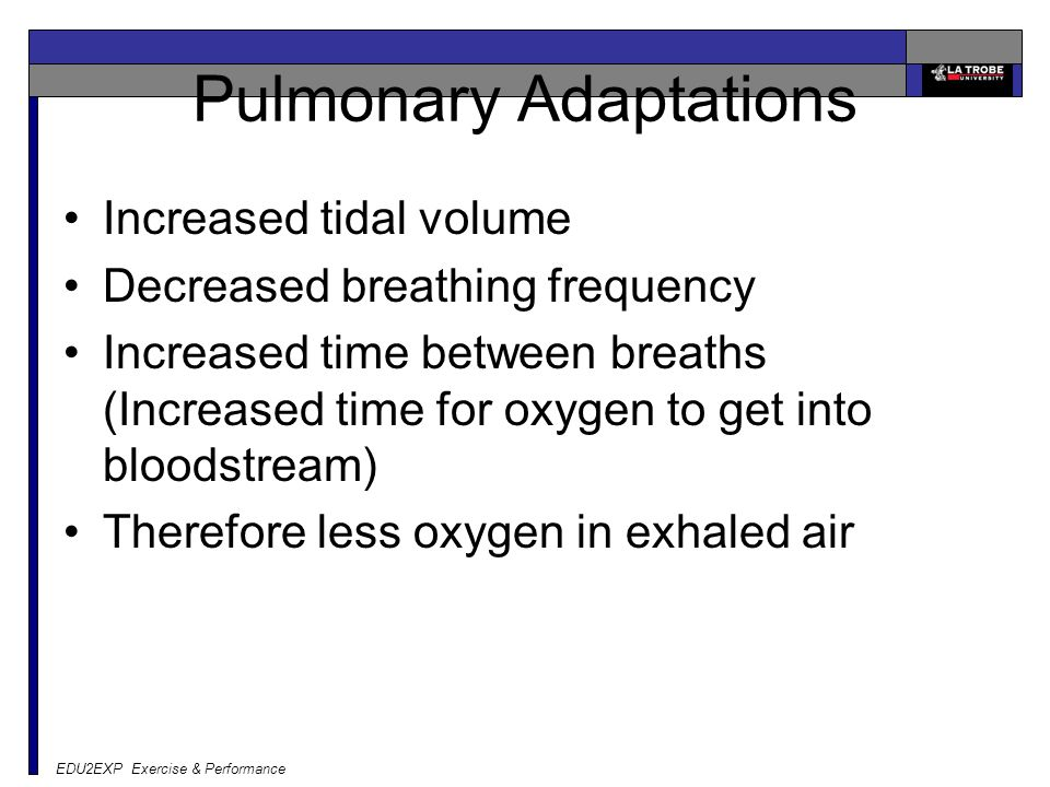 Pulmonary Adaptations