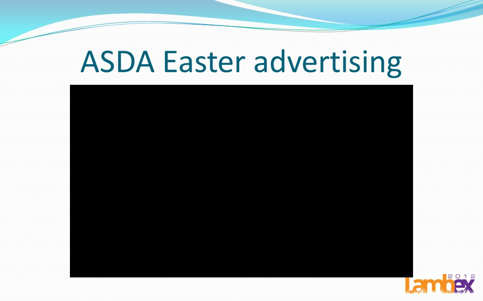 ASDA Easter advertising