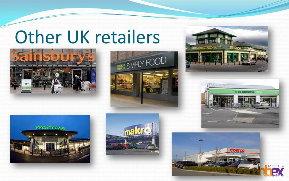 Other UK retailers