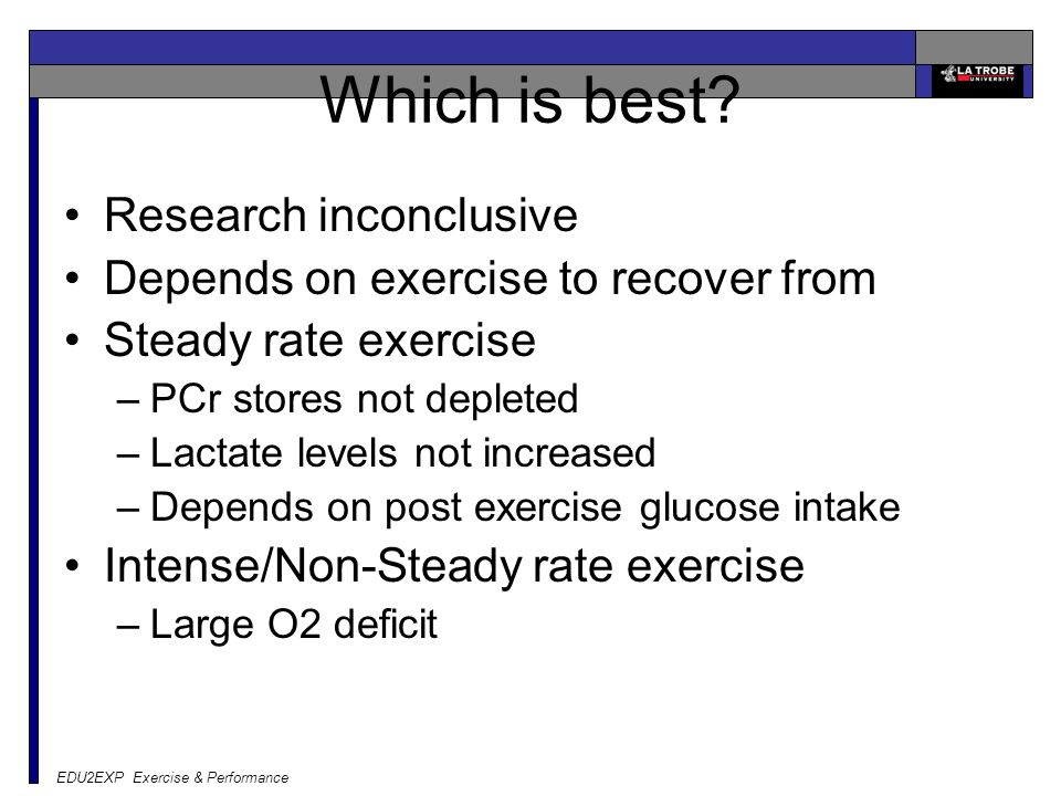 Which is best Research inconclusive
