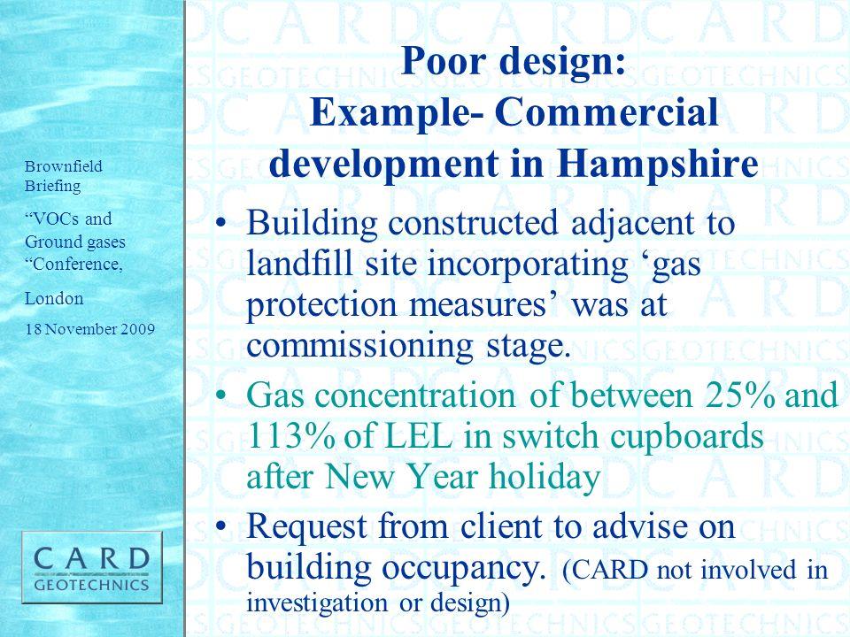 Poor design: Example- Commercial development in Hampshire