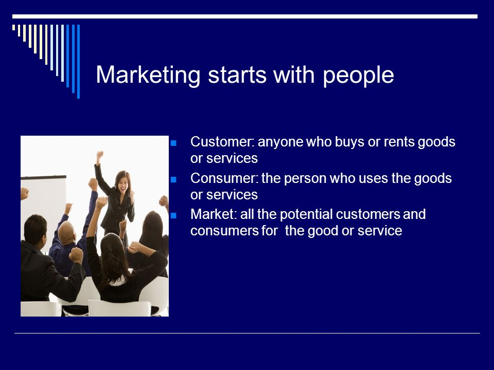 Marketing starts with people