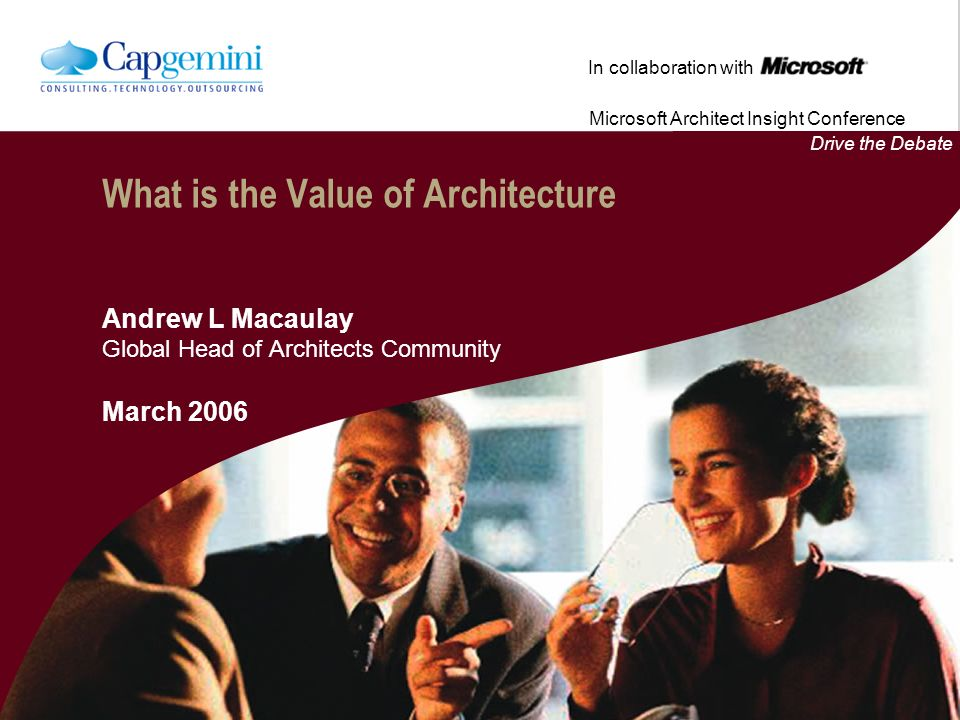 What is the Value of Architecture
