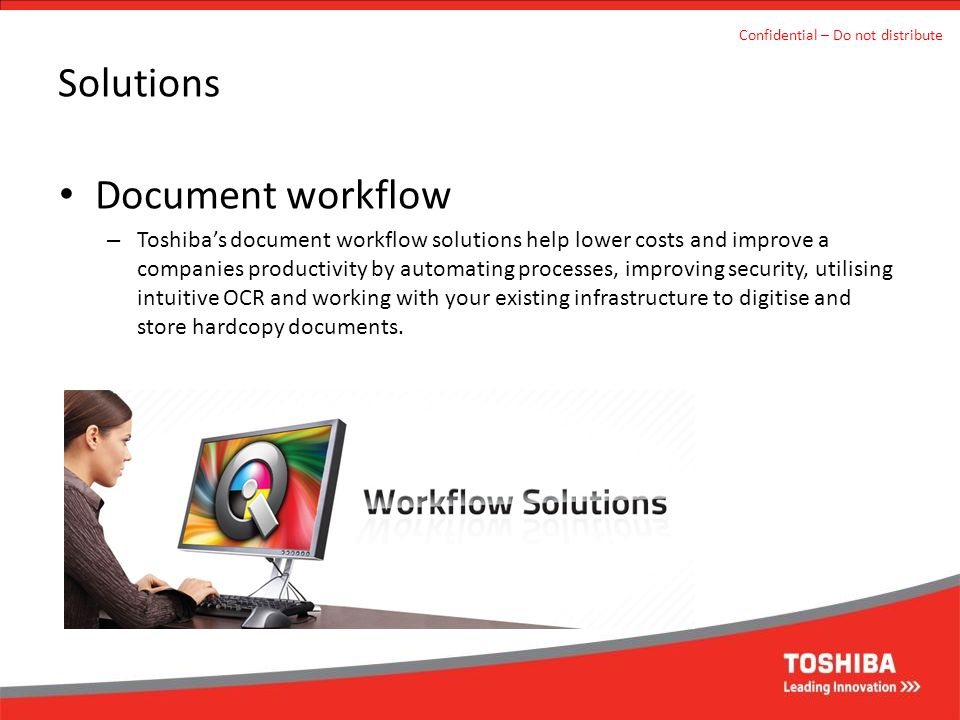 Solutions Document workflow