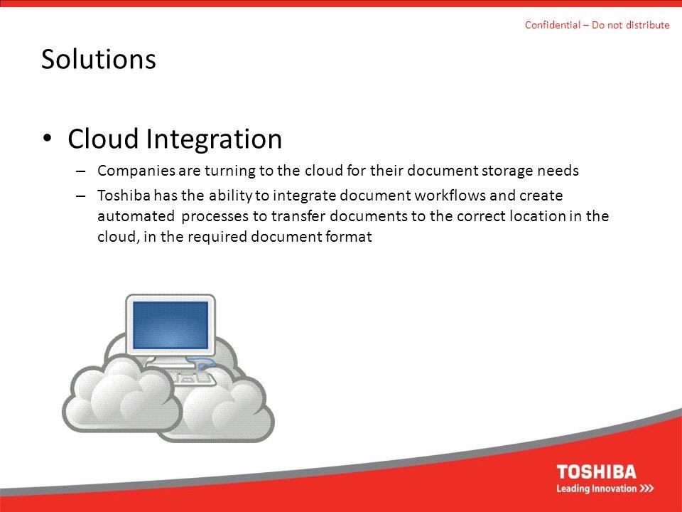 Solutions Cloud Integration