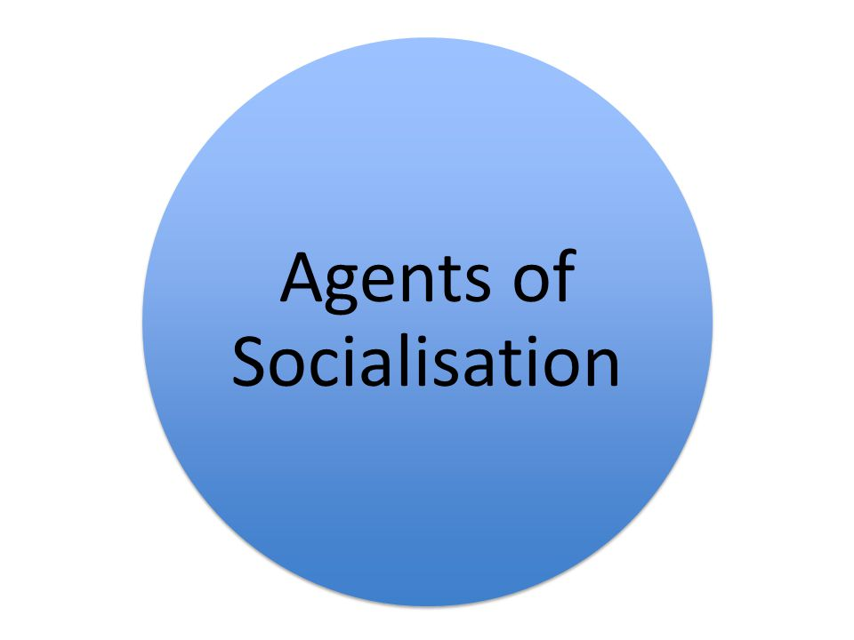 Agents of Socialisation