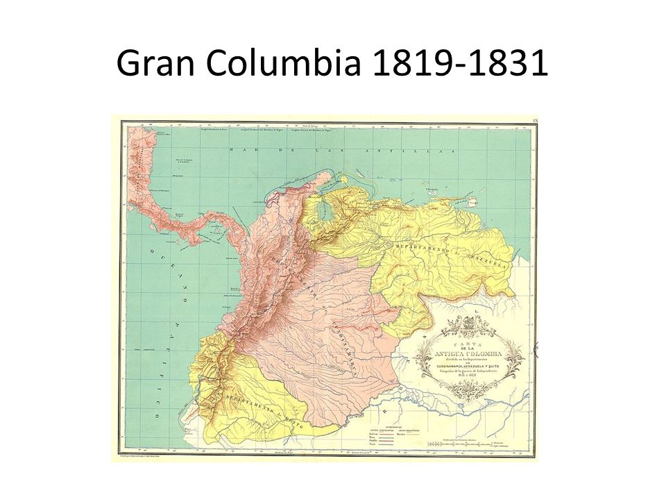 Gran Columbia 1819-1831