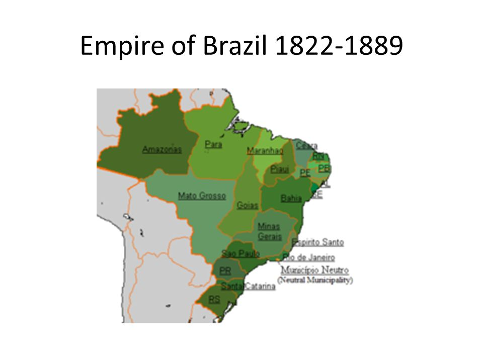 Empire of Brazil 1822-1889