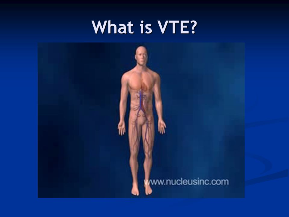 What is VTE Annual risk in developed countries