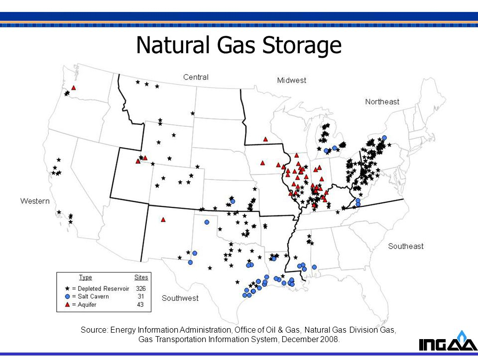 Gas Transportation Information System, December 2008.