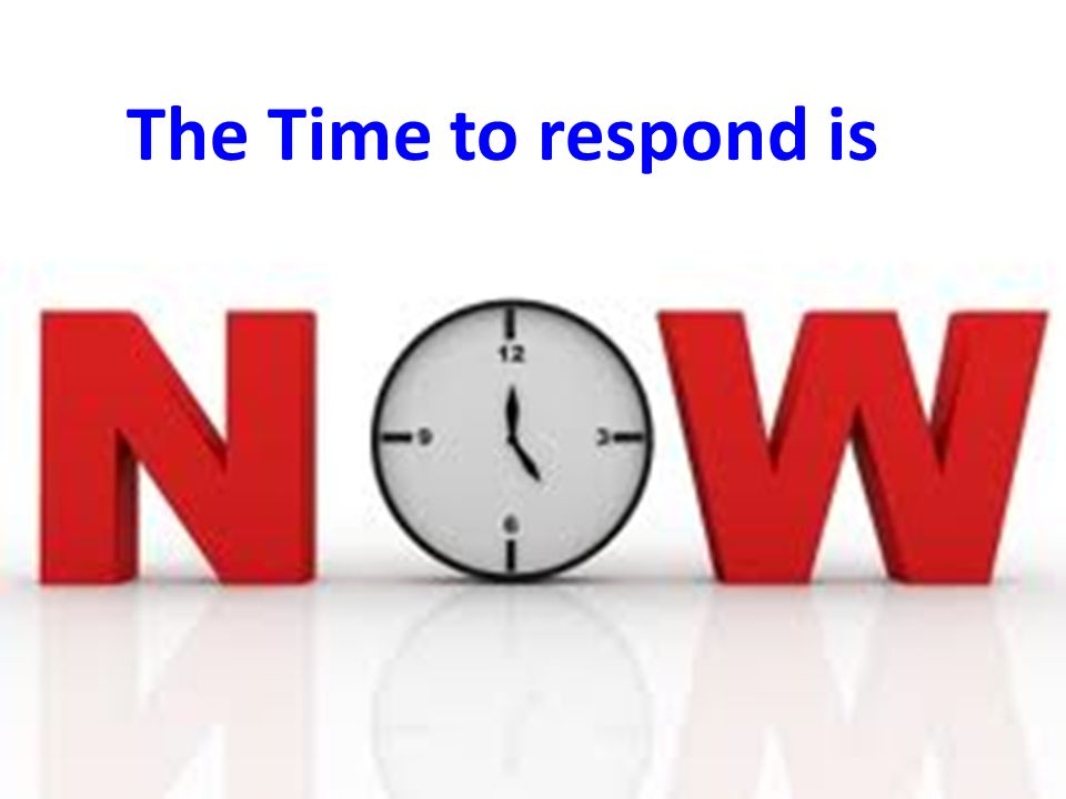 The Time to respond is