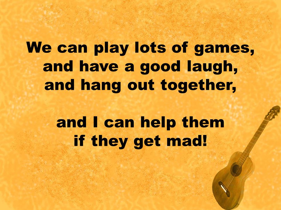 We can play lots of games,