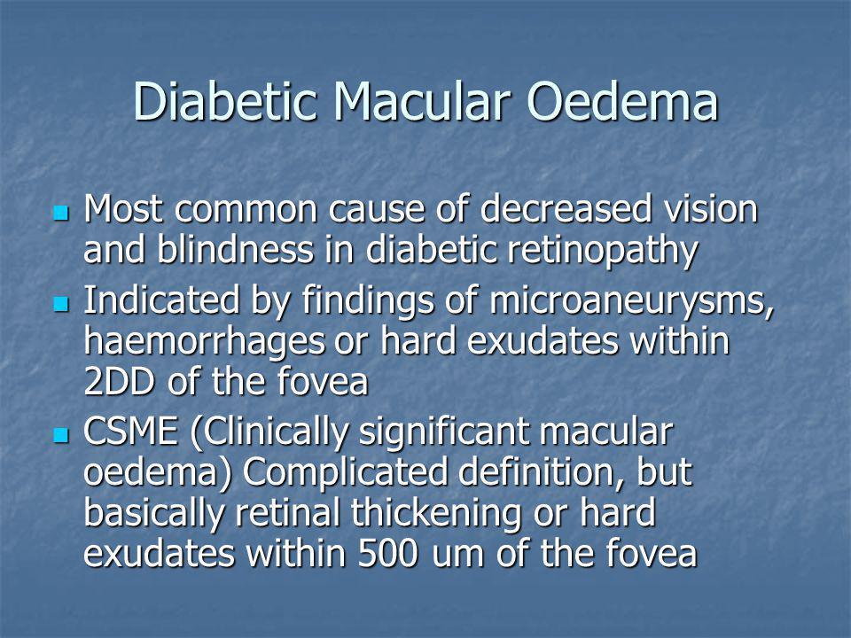 Diabetic Macular Oedema