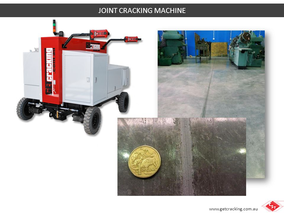 JOINT CRACKING MACHINE