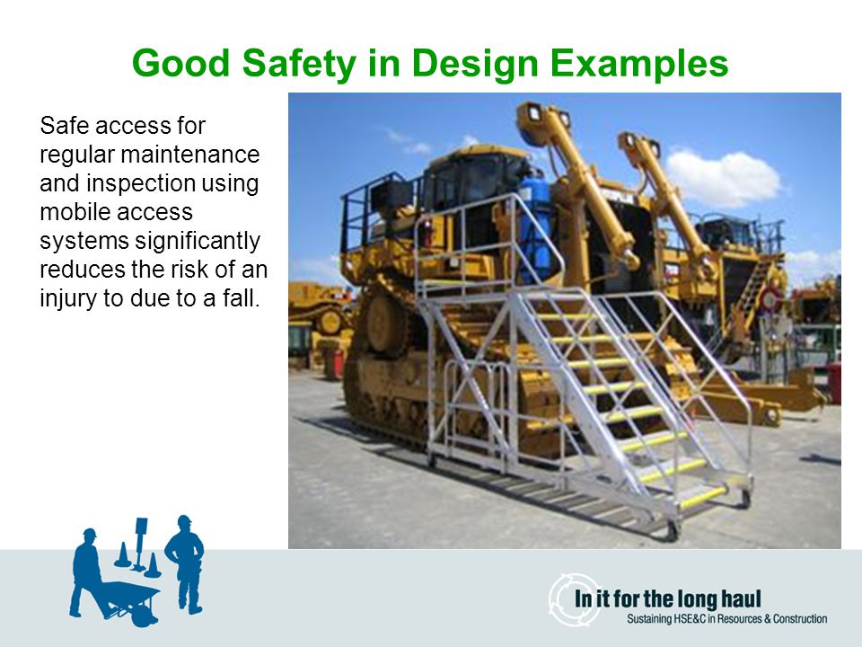 Good Safety in Design Examples
