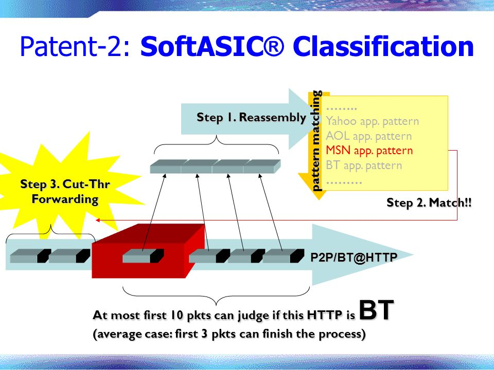 Patent-2: SoftASIC® Classification