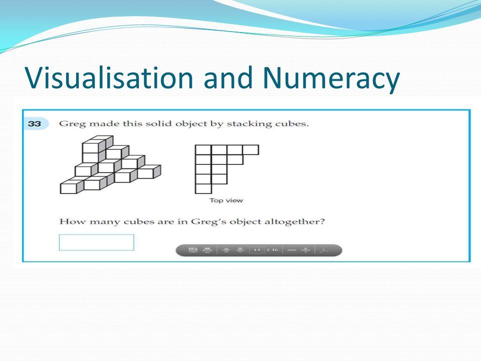 Visualisation and Numeracy