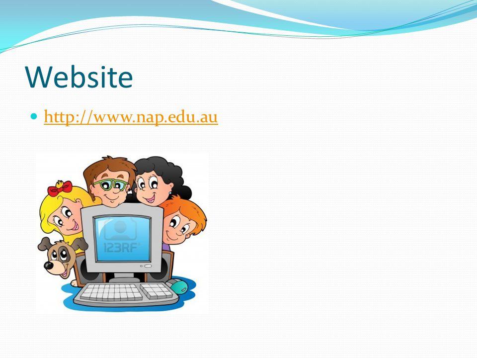 Website http://www.nap.edu.au