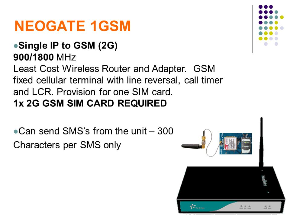 NEOGATE 1GSM