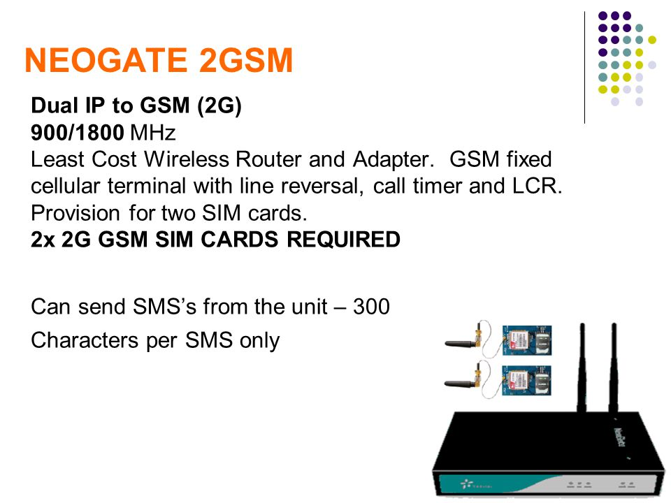 NEOGATE 2GSM