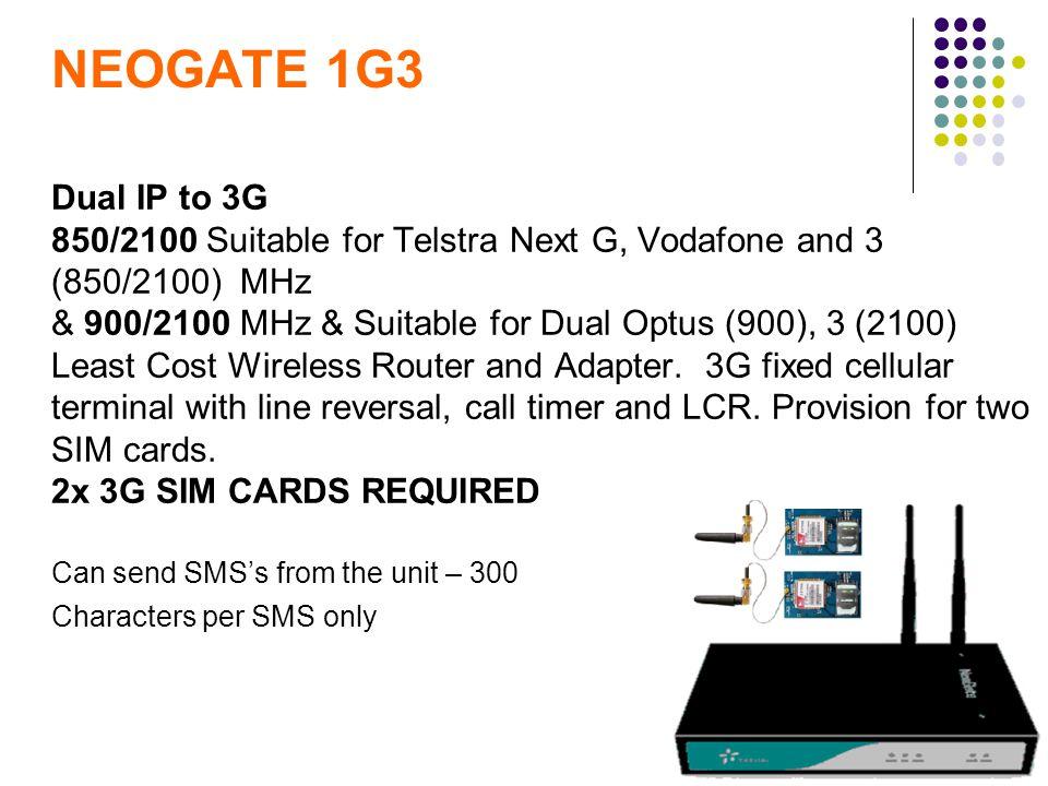 NEOGATE 1G3