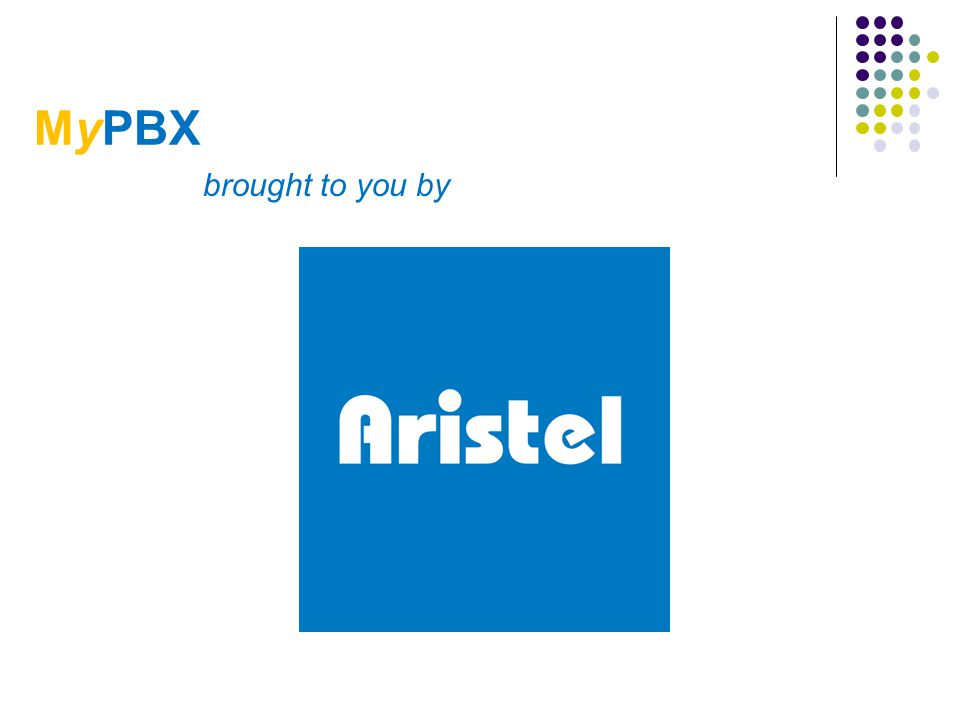 MyPBX brought to you by