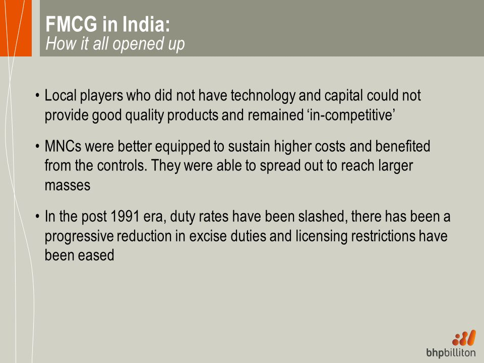 FMCG in India: How it all opened up