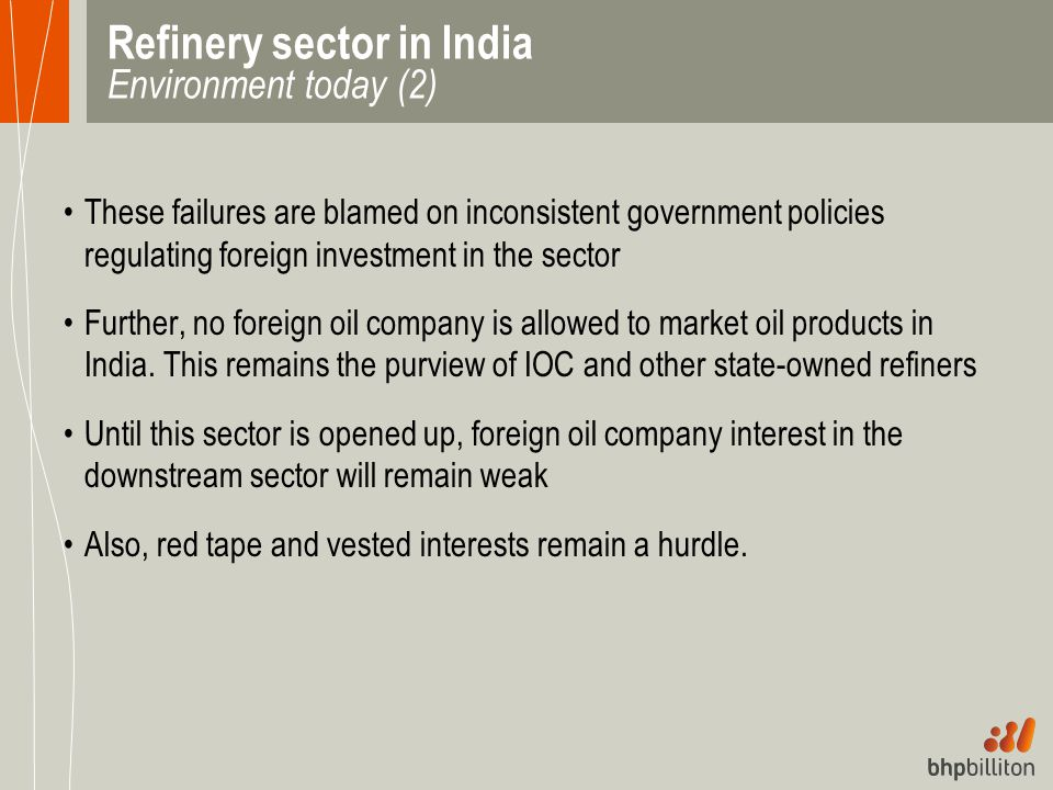 Refinery sector in India Environment today (2)