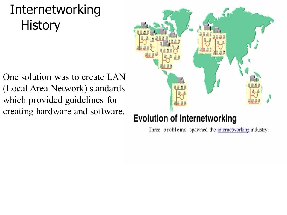 Internetworking History