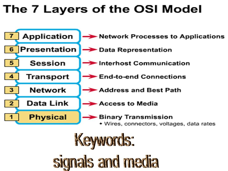 Keywords: signals and media