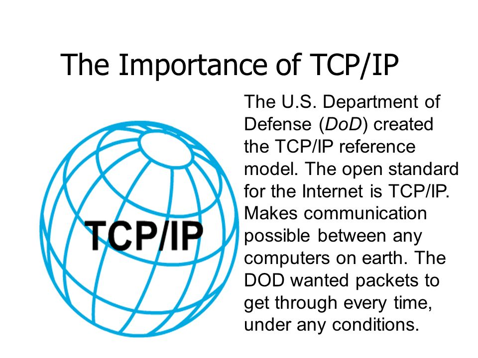 The Importance of TCP/IP