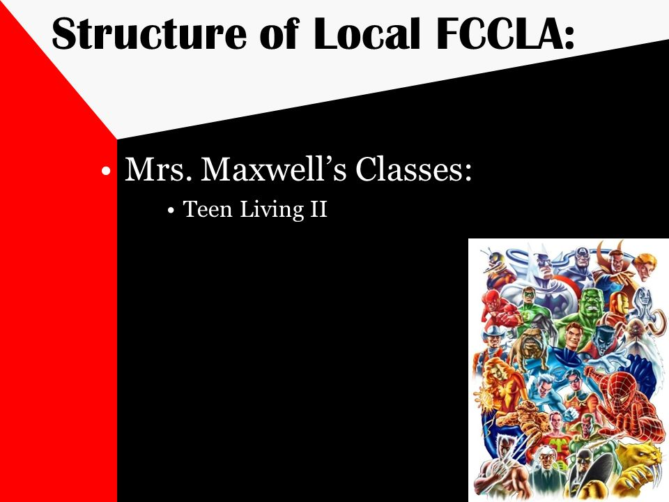 Structure of Local FCCLA: